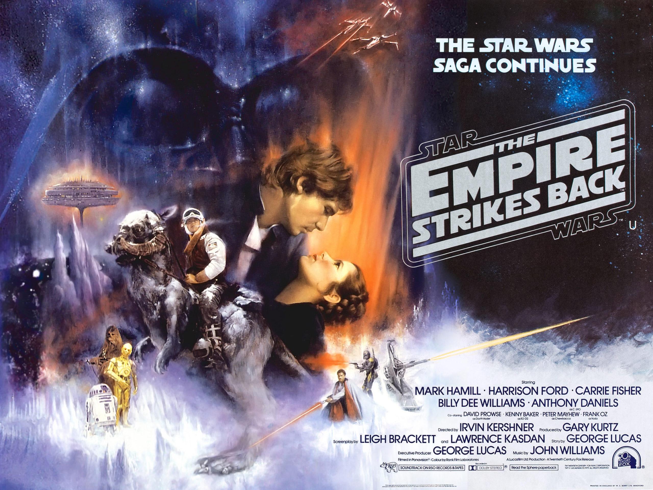Star Wars Episode V The Empire Strikes Back 1980 Bald Move