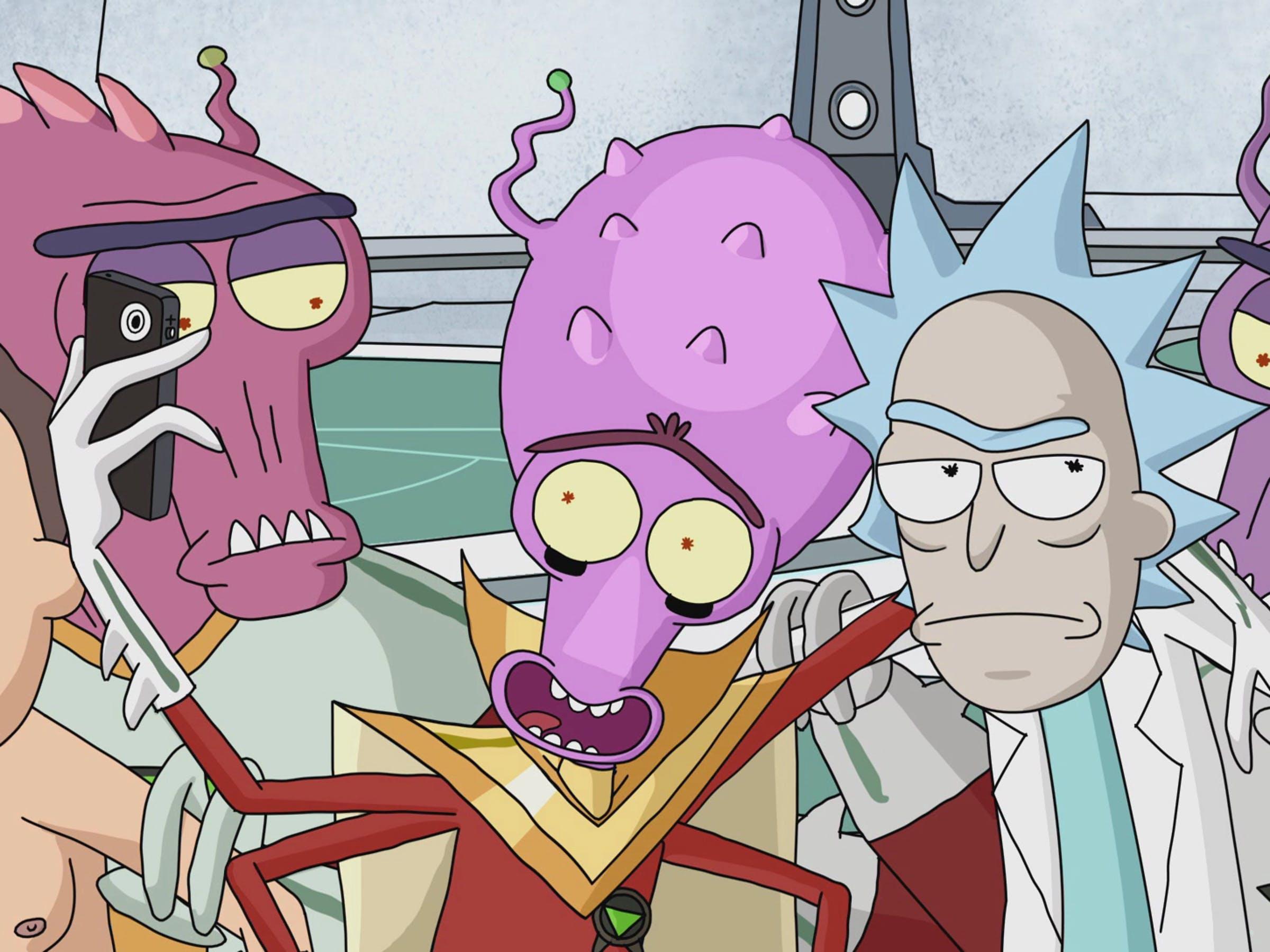 S01E04 – M  Night Shaym-Aliens! | Bald Move